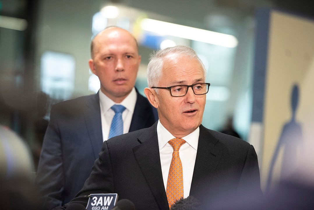 Malcolm Turnbull Declares Leadership Vacant