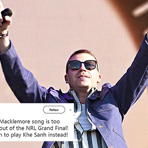 Macklemore will be performing 'Same Love' at the NRL Grand Final this year.