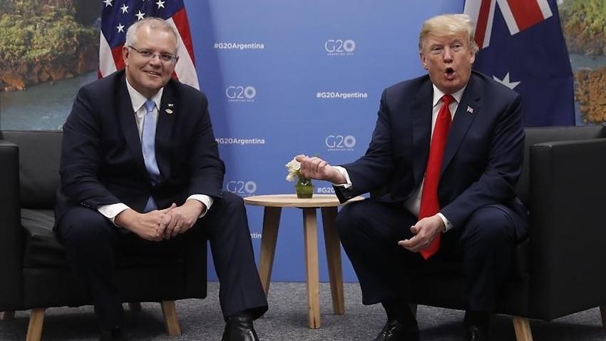 Trade on menu at Morrison's Trump dinner