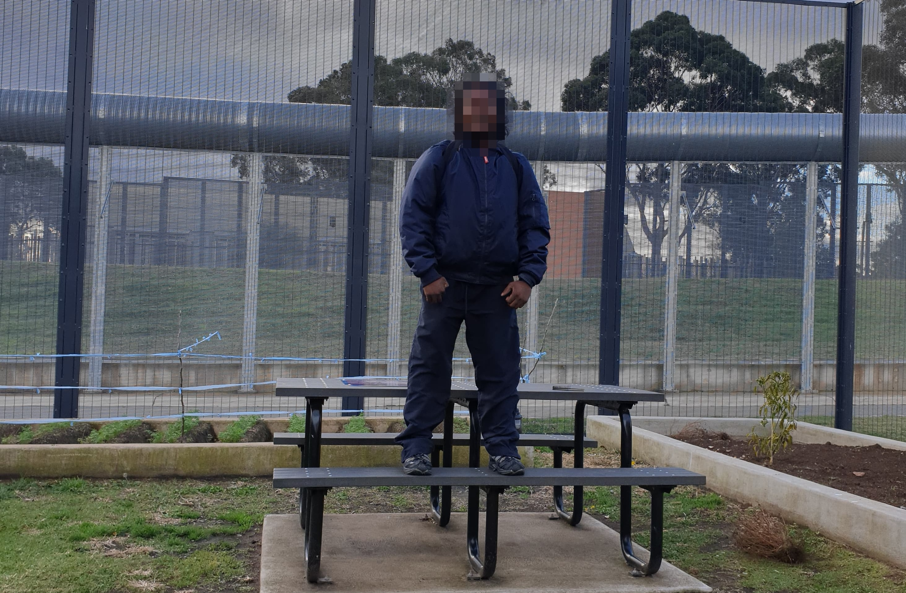 The man is in Villawood Immigration Detention Centre.