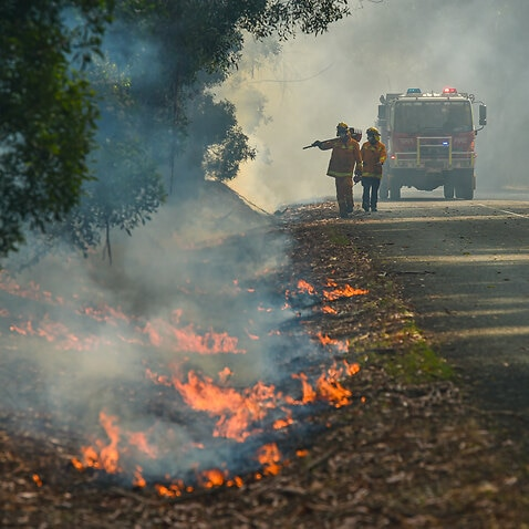 Favourable weather has given a reprieve to firefighters in Victoria.