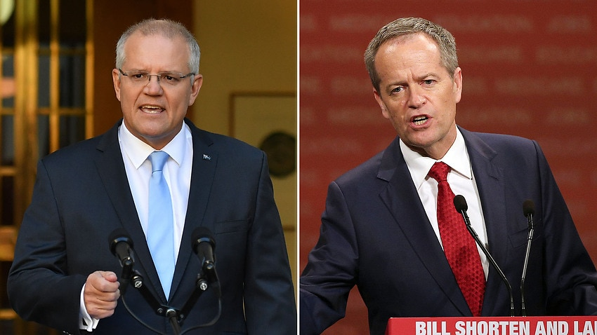 Image for read more article 'PM puts economy front and centre as Shorten promises a 'fair go' government'