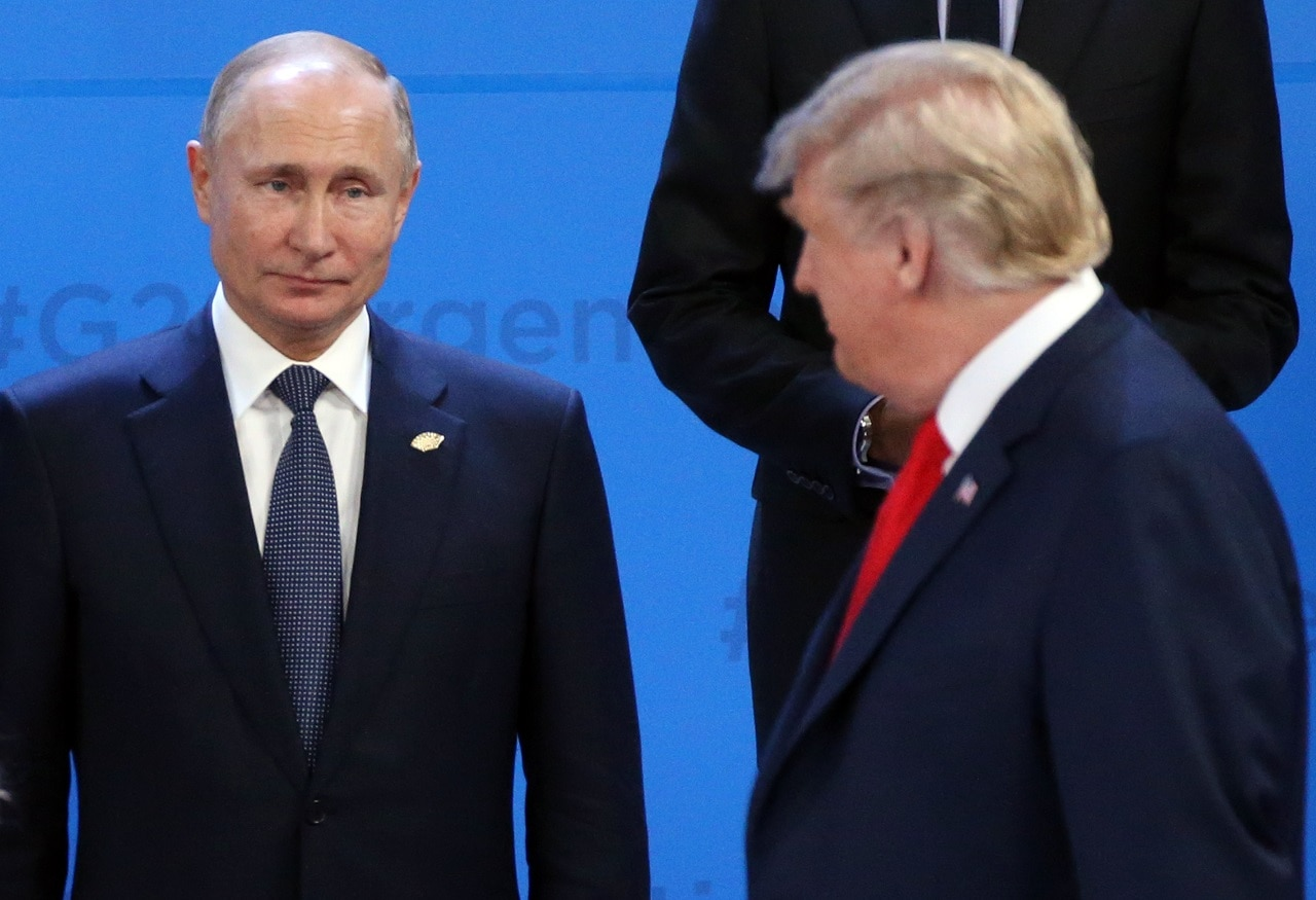 White House explains Trump-Putin encounter at G20