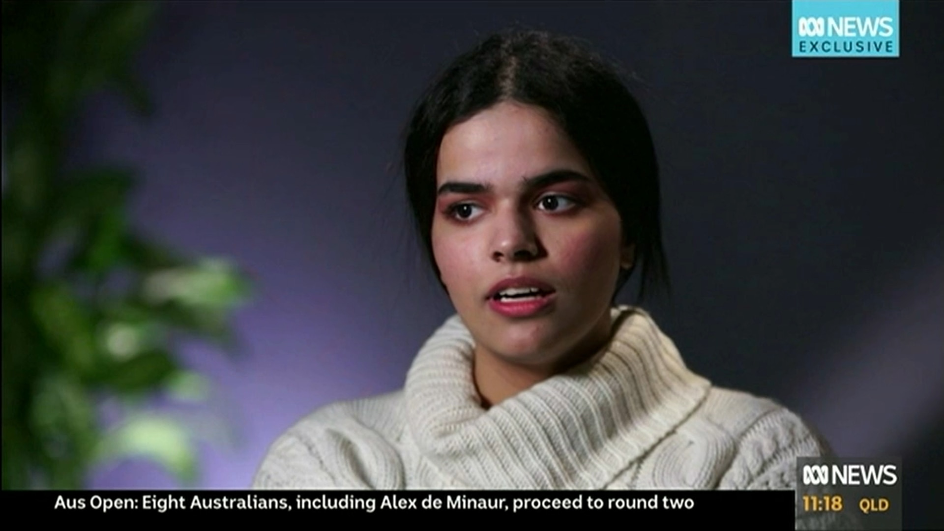 Hope My Story Encourages Others to be Brave: Rescued Saudi Teen