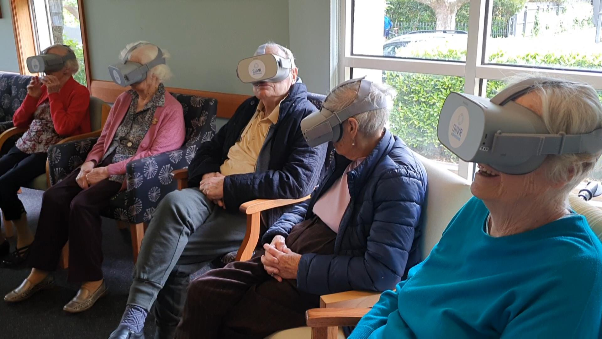 SilVR at aged care